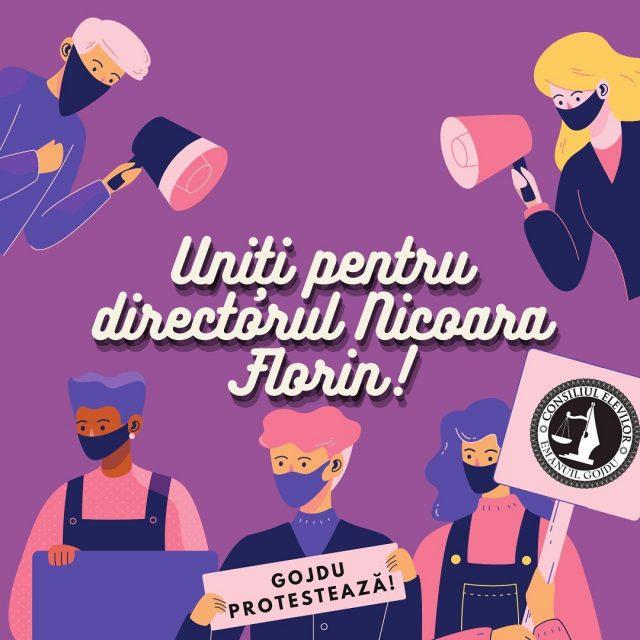 """Elevii gojdiști din Oradea protestează, după ce directorul liceului a fost demis ,,noaptea ca hoții"""""""