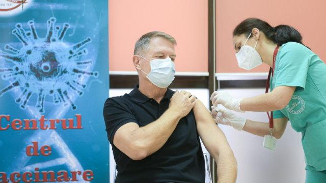 Locul șapte din coada UE 27 la vaccinare