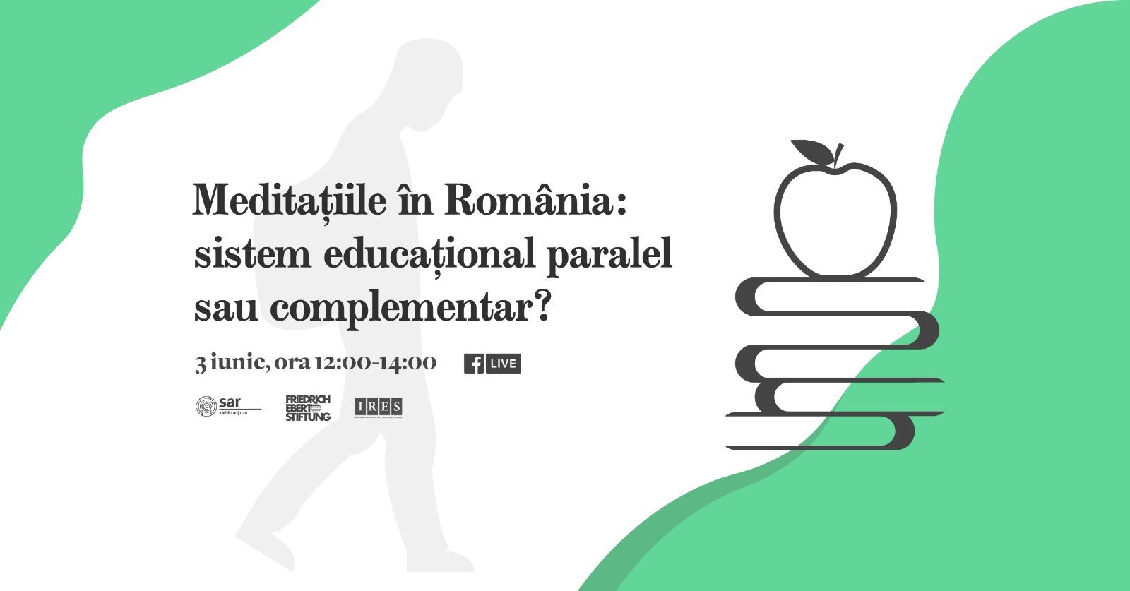 STUDIU SAR-IRES: La ora actuală, o treime din elevii români participă la sistemul de meditații