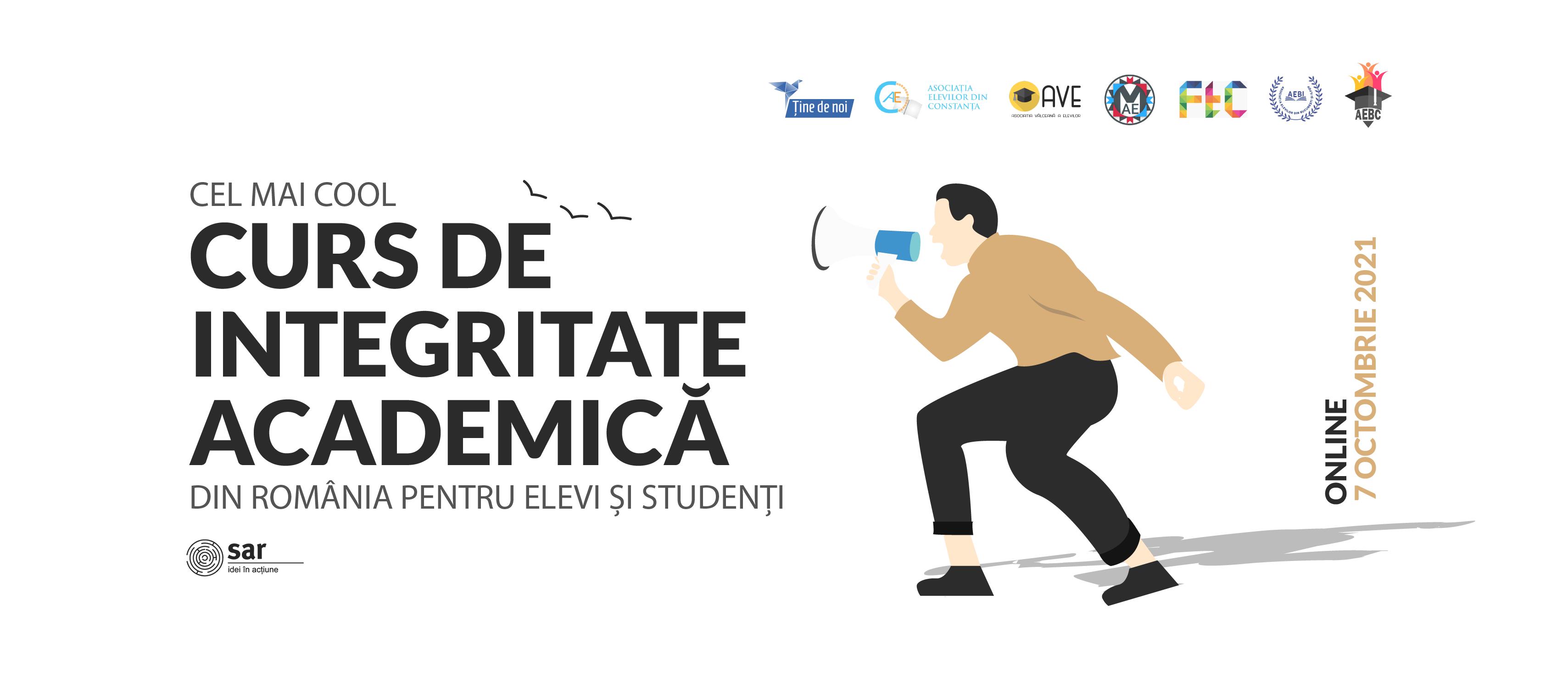 Înscrie-te la cel mai cool curs de integritate academică pentru elevii și studenții din România!